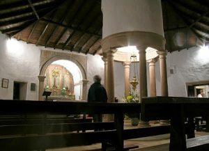 interior capela s. mamede